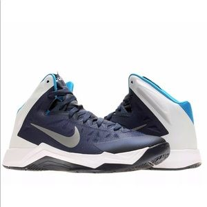 Nike Zoom Hyperquickness Basketball Shoes Blue 8